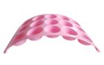 12-Muffin standaard YOURI - Roze - Kunststof
