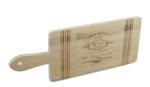 Red Hart - Serveerplank met tekst - Bamboe - 40x15cm