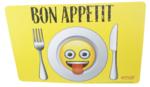 Placemat Emoji - Set van 2 placemats - 43x28cm