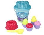 Cupcake strandset - 12 delig - Cupcake vormen - Ijsschep - Tulband