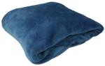 Fleece Plaid JELTE - Deken - Blauw - Polyester - 150 x 200 cm