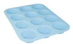 12-Muffinbakvorm PUCK - Blauw - Siliconen