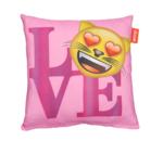 "Emoji - Emoticon - Smiley - Kussenhoes - ""LOVE"""