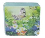 Luxe onderzetter met foto - Multicolor - verpakt per 6 - MDF/Kurk