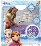 Disney Frozen buiten sjabloon voor Stoepkrijten Plezier set – 33 x 29 cm
