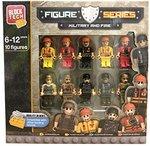 Block Tech Militairen & Brandweermannen - 10 stuks - Multicolor - Lego