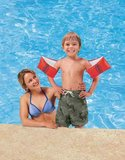 Intex Zwemvleugels Deluxe - Oranje - 6-12 Jaar - Zwembandjes