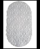 Rubberen Antislip Douchemat MAIKEL - Transparant - 38 x 67 cm - Badmat