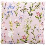 Sierkussenhoes met voorjaarsmotief TINY - Roze - 40 x 40 cm