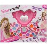 Kinder Make-up koffer - Multicolor - Kunststof - 37,5 x 5 x 30,5 cm