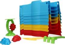 Stapelbare Zandbak voor kinderen – Multicolor - 87x87x12cm