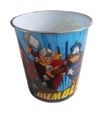 Kinder Prullenbak Avengers - Multicolor - Ø 20,5 x 22 cm