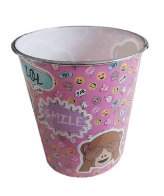 Kinder Prullenbak Emoji Monkey - Multicolor - Ø 20,5 x 22 cm