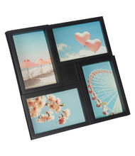 Collagelijst HEIKO - Zwart - Kunststof / Glas - 4x 10 x 15 cm