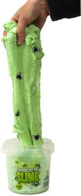 Spider slime/zand met spinnetjes - Groen - 750g