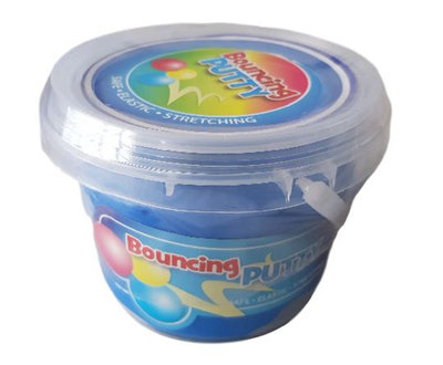 Bouncing putty - Kneedklei - Blauw - Slijm