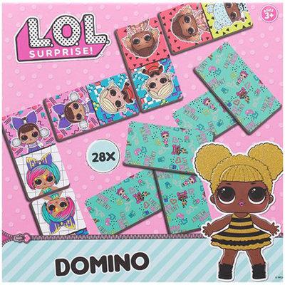 L.O.L. Surprise Domino - Multicolor - 28 kaartjes - Spel
