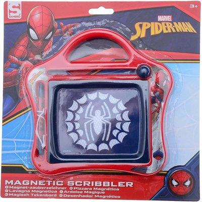 Spider-man Magnetisch Tekenbord - Bauw / Rood - Kunststof