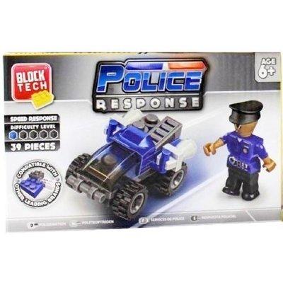 Block Tech - Police response - 39 stuks - Multicolor