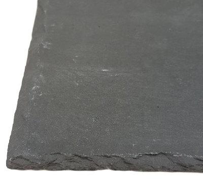 Serveerplank LISETTE - Antraciet - Leisteen - 12 x 30 cm