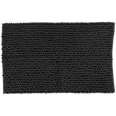 Badmat MELISSA - Zwart - 50 x 80 cm