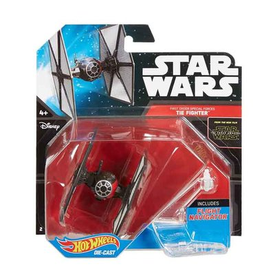 Hot Wheels Starships Star wars Tie Fighter - Zwart - Kunststof