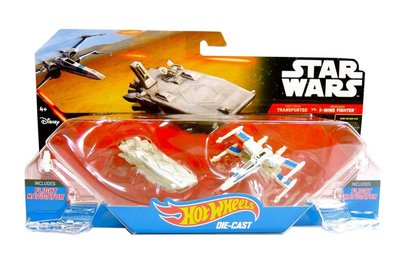 Hot Wheels Star Wars Transporter vs X-Wing Fighter - Multicolor - Kunststof