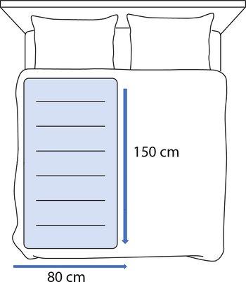 Inventum HN1312V - Elektrische deken- 150 x 80 cm