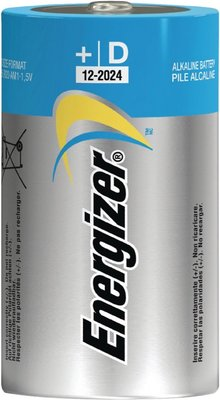 Energizer Alkaline Batterij D 1.5 V Advanced - 2-Blister