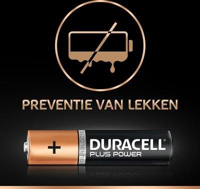 Duracell AAA Plus Power batterijen - 8 stuks