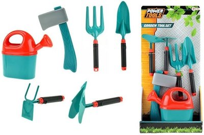 Tuingereedschappenset Power Tools - Groen - Kunststof - 6-delig