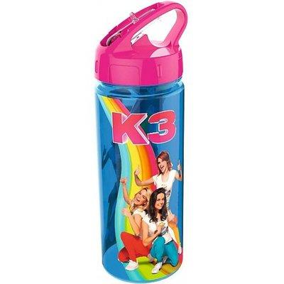 K3: Drinkfles - Blauw - Kunststof