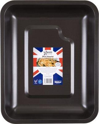 Wham Essentials Roostervorm - Zwart - Staal - 39 x 31 - 4 cm