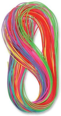 Scoubidou Touwtjes 100 x 1 Meter - Multicolor - Kunststof