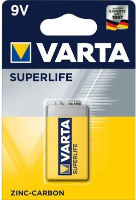 Varta 9V Superlife Batterij - 1 stuk