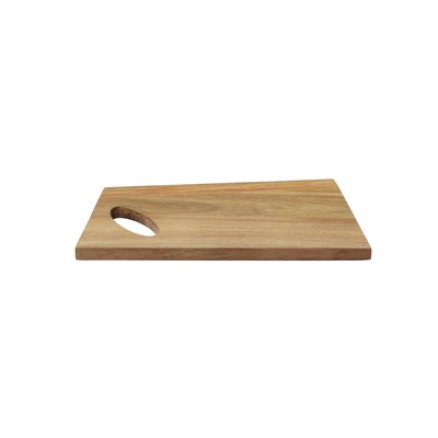 Dagelijkse Kost Snijplank - Bruin - Serveerplank - Acaciahout - 30 x 16  x 1.5 cm