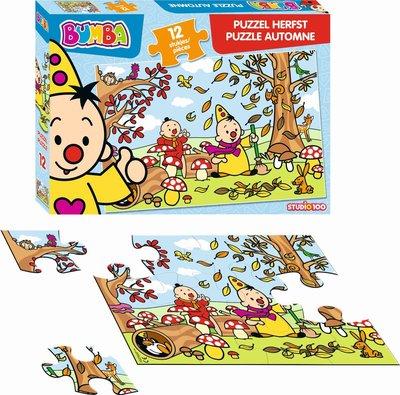 Bumba puzzel - Herfst - 12 stukjes