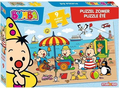 Bumba puzzel - Zomer - 9 stukjes