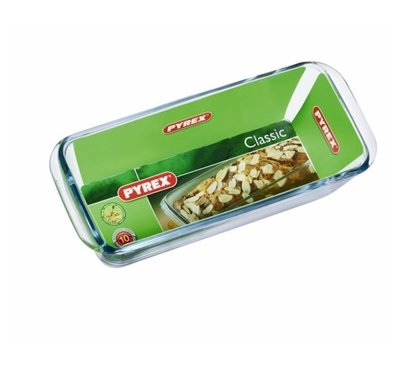 Pyrex Bake & Enjoy Cakevorm - Transparant - Borosilicaatglas - 28 x 11 x 8 cm