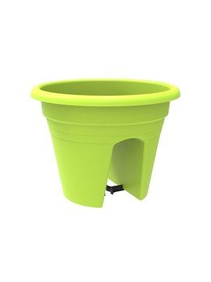 Balkonbak JOAN - Lime - Ø 30 x h 24 cm - Rond