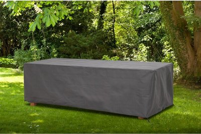 AllSeasons Covers Tuinsethoes - Antraciet - Kunststof - 185 x 105 x 75 cm