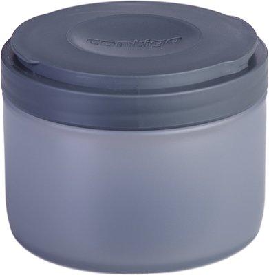 Contigo Shake & Go FIT + compartiment - Blauw / Grijs - 650 ml - Kunststof