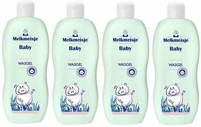 Melkmeisje Baby Wasgel - 300 ml - Voordeelverpakking - Set van 4