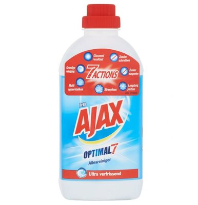 Ajax Optimal7 Eucalyptus Allesreiniger - 750 ml