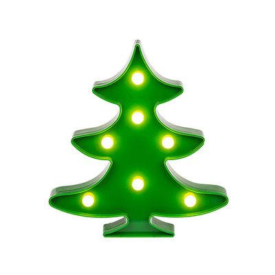 Led Kerstboom Lamp - Groen - Kunststof