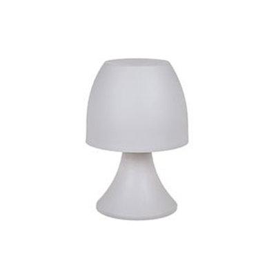Led Tafellamp Cecile - Wit - Kunststof - 19 x 12 cm