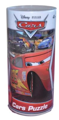Disney Cars - Puzzel in Koker - 50 stukjes - 31x22CM