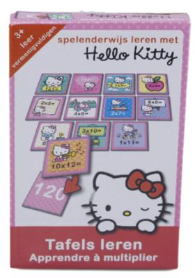 Hello Kitty - Tafels-leren