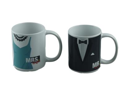 Mr. & Mrs. Perfect Beker/Mokkenset - set van 2 - Giftset
