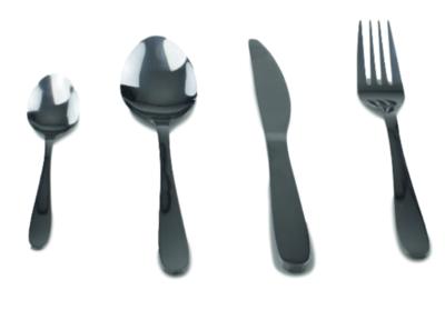 16 delig bestekset - 4 personen - zilver